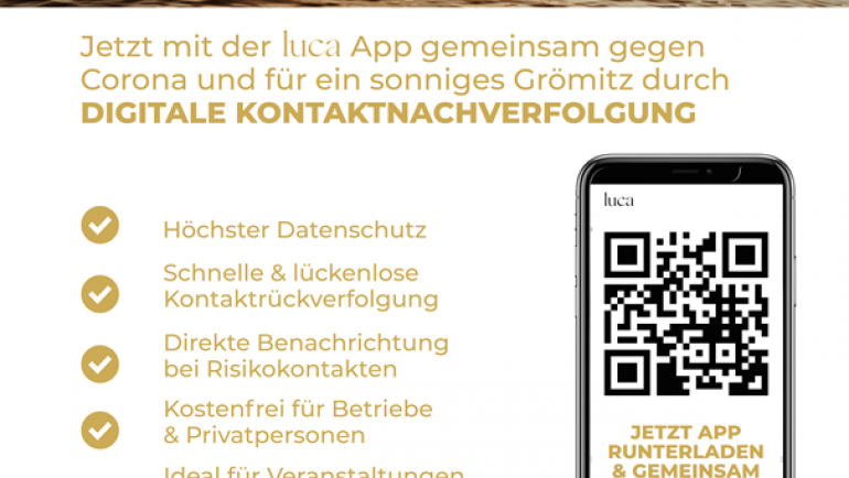 Kontaktverfolgung mit der Luca App